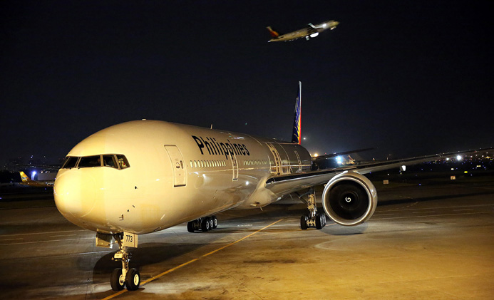 Philippine Airlines, Boeing 777, New York to Manila flights, air travel news, cheap flights to Manila