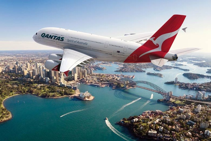 Qantas Airways flights, flights to USA, North American routes, Canada, Mexico, San Francisco