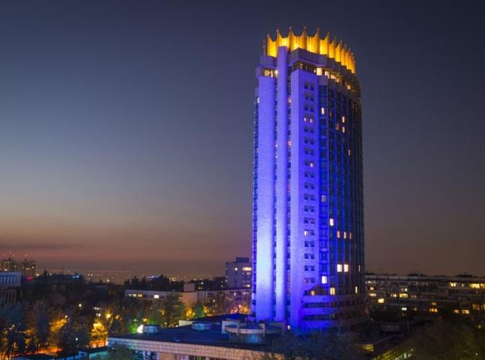 Hotel Kazakhstan, UN 70th anniversary in Kazakhstan