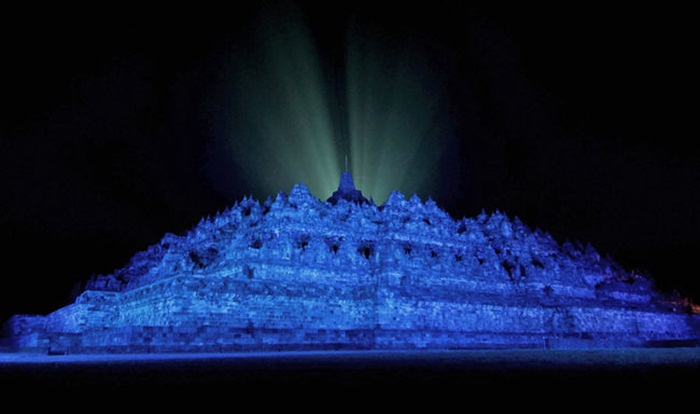 UN Day 70th anniversary, Borobudur Temple Indonesia