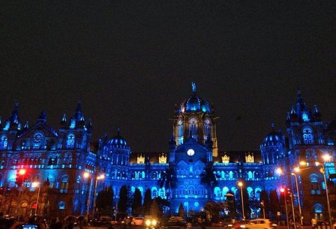 UN Day anniversary, UN Day 70th anniversary in India, Chhatrapati Shivaji Terminal, Mumbai, India