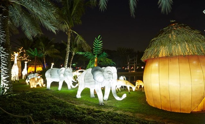 Dubai Garden Glow, Burj Khalifa replica, top Dubai tourist places