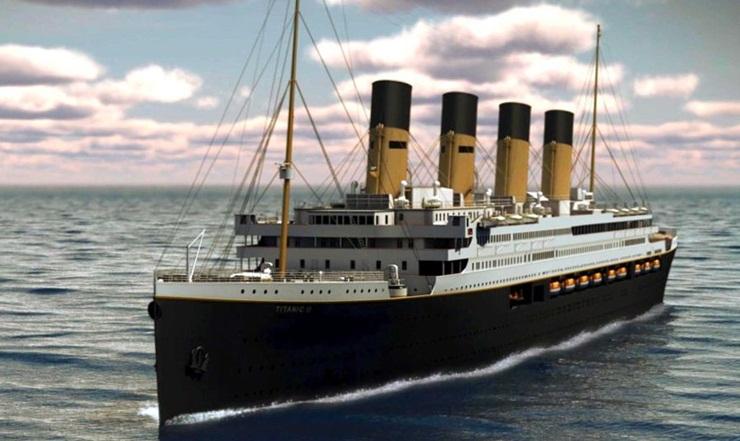 titanic 2 replica, titanic 1912, titanic interesting facts, Clive Palmer