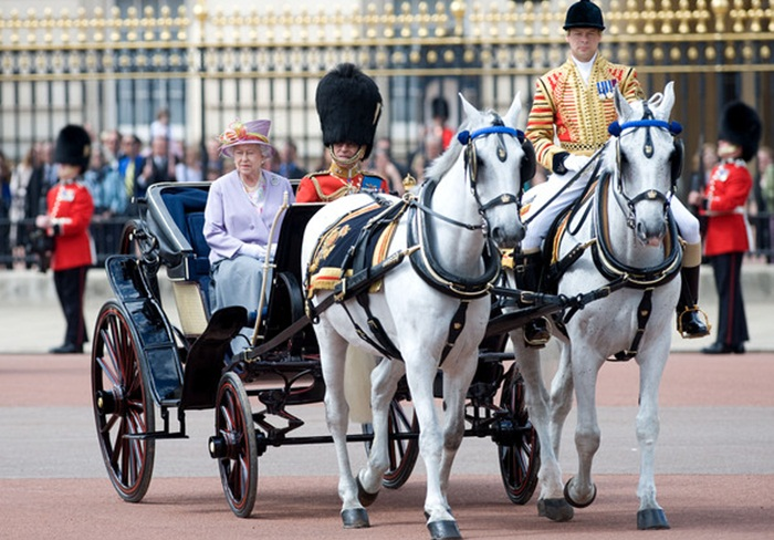 Trooping the Color, Buckingham Palace, Queen Elizabeth II, interesting facts