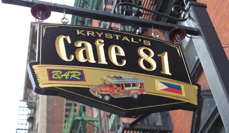 Krystal Café 81 NYC, Filipino restaurants in New York City