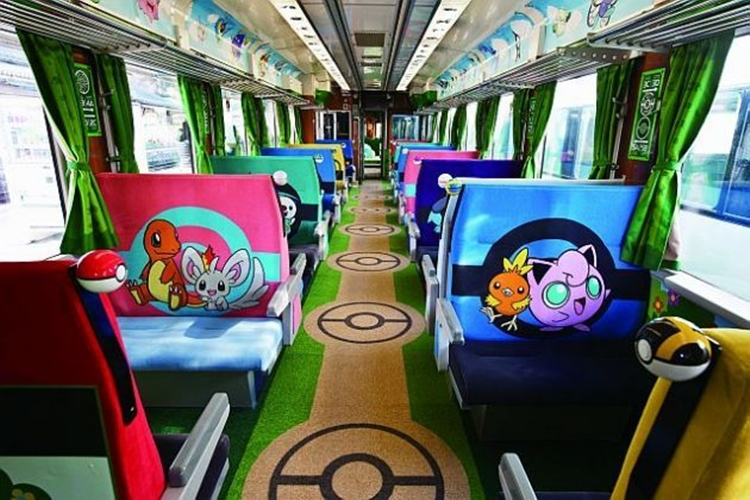 Pikachu Themed Pokemon with You Train is Back on Tracks for Rides in Tsunami-hit Areas of Japan