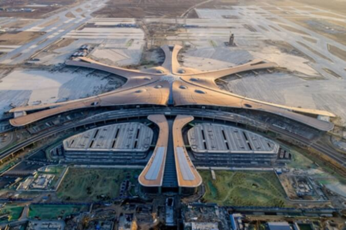 Beijing Daxing International Airport, World's Largest Single-Structure Airport