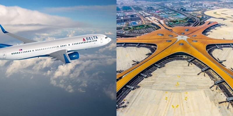 Delta moves to Daxing International Airport
