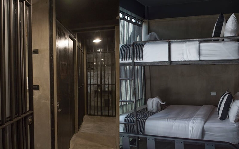 Offbeat places in Thailand, Bangkok Tourism, Thailand Tourism, Prison-themed Hostel in Bangkok, Sook Station, Thailand