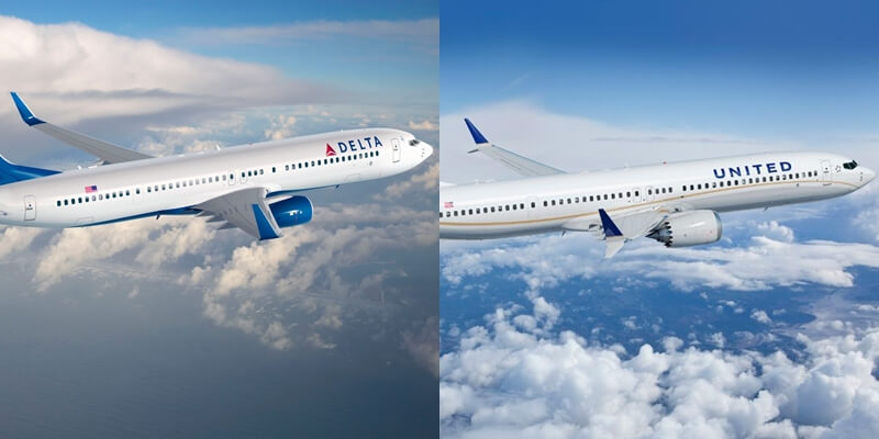 Delta vs United Airlines, Delta Airlines, United Airlines, Delta business class flights, United business class flights, Delta economy flights, United economy flights